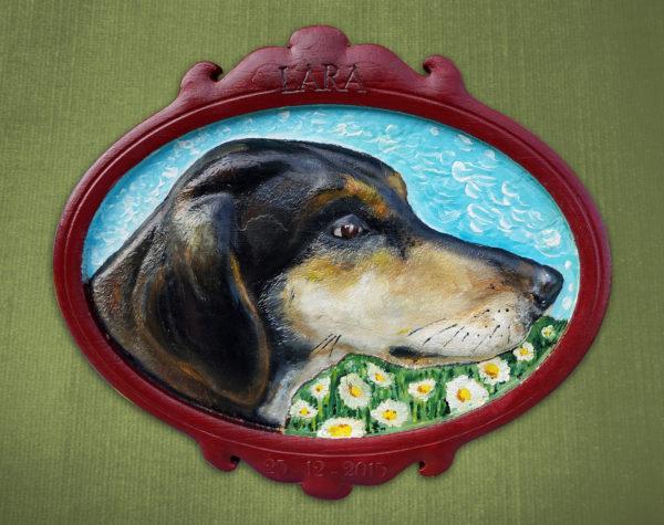 Ritratto del tuo animale in 3d dipinto a mano