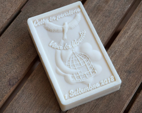 Soap with custom 3d design