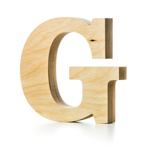 customized text in multilayer plywood