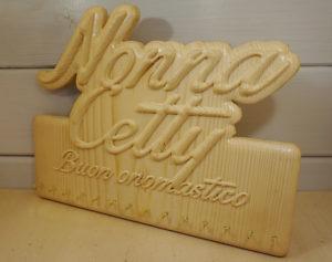porta collane in legno personalizzato