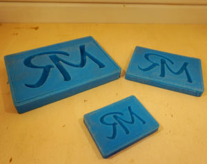 stampo in silicone lettere personalizzate